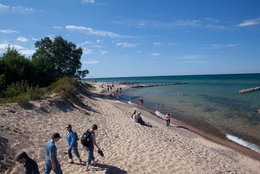 Beach at Whitefish Point