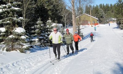 Cross-country skiing in Grayling Area