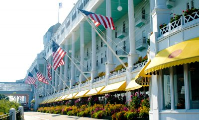 The Grand Hotel on Mackinac Island