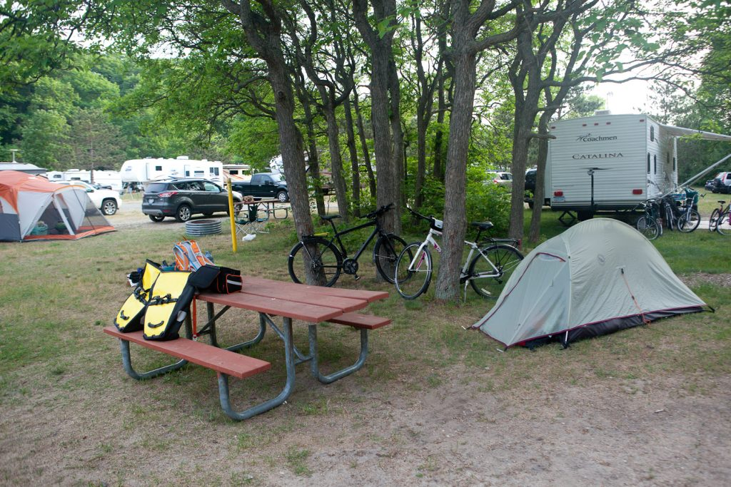 Weekend Bike Touring in Michigan