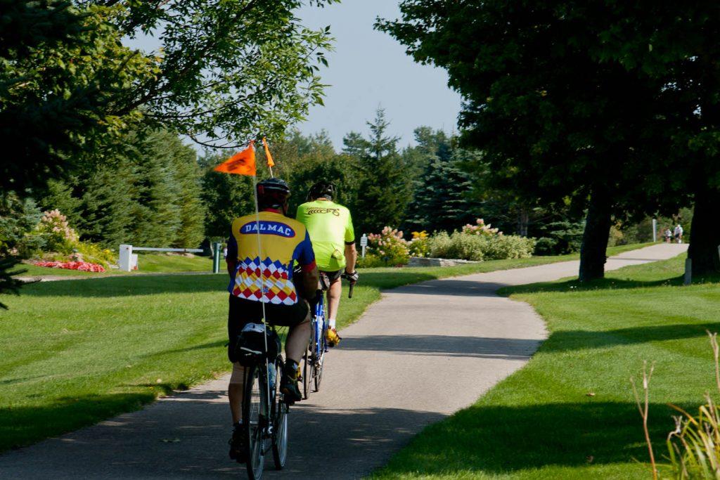Weekend Bike Touring in Michigan