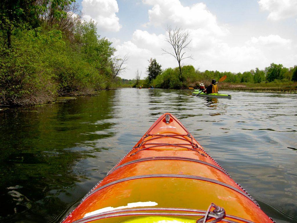 Huron River Paddle