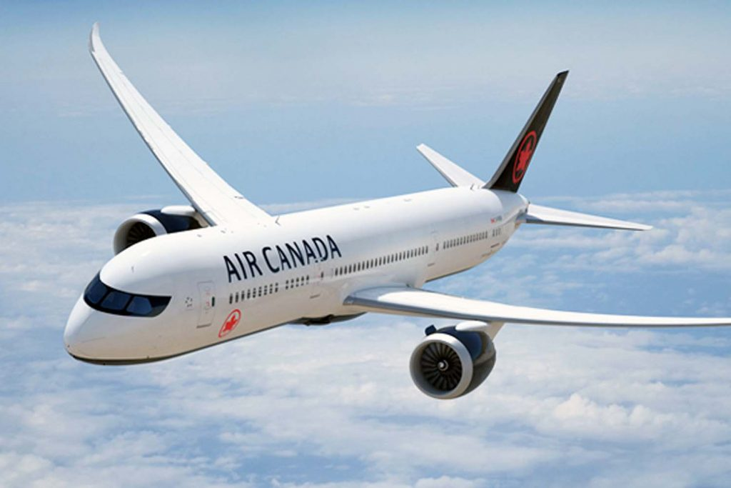 Air Canada airplane
